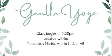 Gentle Yoga Class tickets