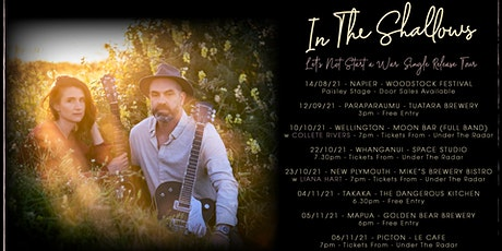 In The Shallows Single Release Tour {Whanganui} tickets