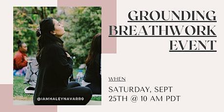 Grounding Breathwork tickets