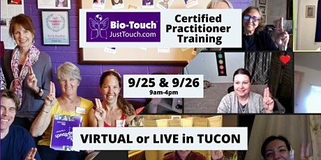 Bio-Touch Healing CERTIFIED Practitioner Training tickets