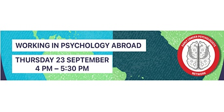 ECP Network Presents: Working in Psychology Abroad tickets