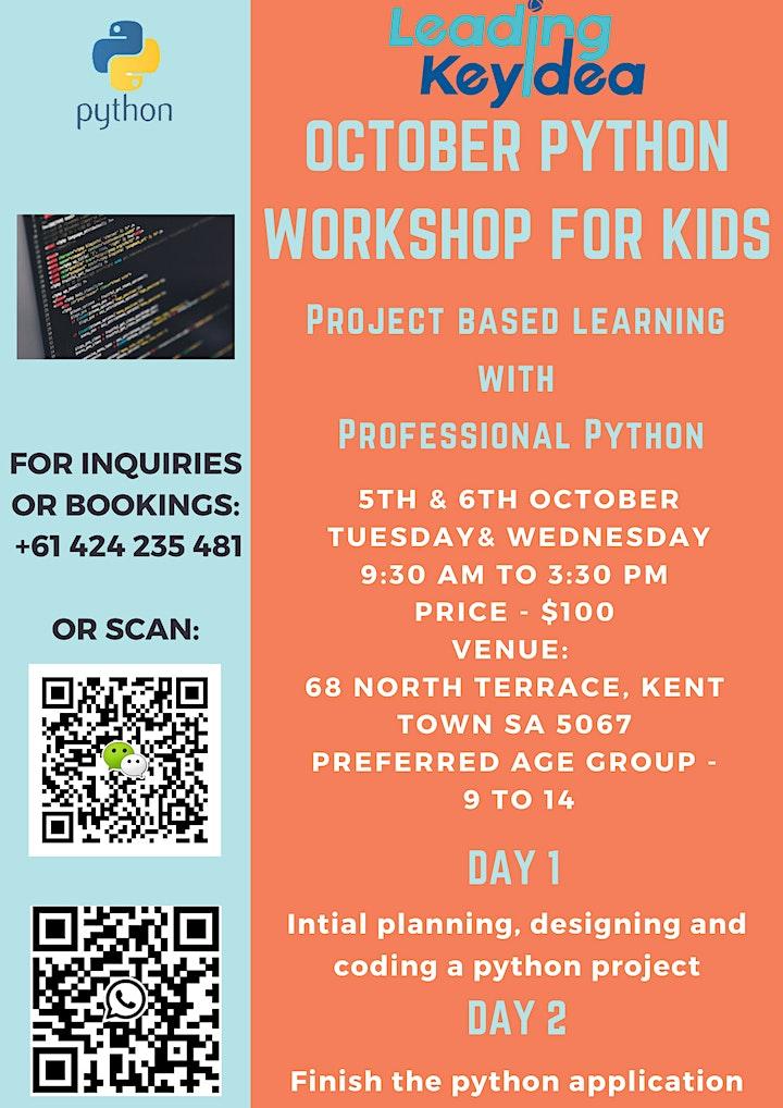 Python Workshop for kids image