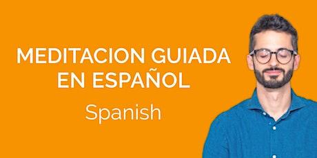 Meditación en Español Gratis Online entradas