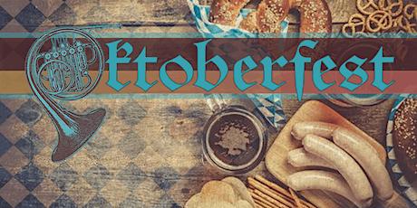 Oktoberfest Dinner Party, Pretzel Demo & Musik! tickets