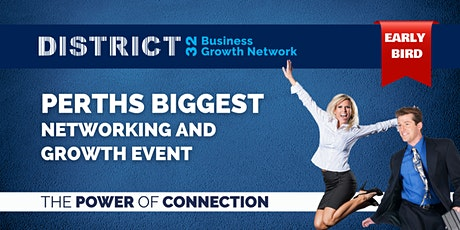Perth's Biggest Networking Event – Everyone Welcome - Thu 14 Oct tickets