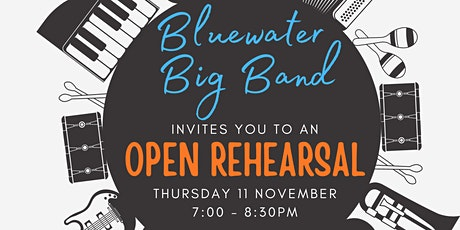 Bluewater Big Band Open Rehearsal tickets