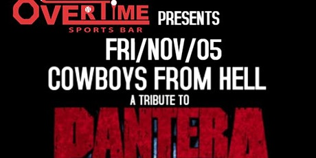 COWBOYS FROM HELL(Pantera Tribute)@ASTRO-CREEP(WhiteZombie Tribute) tickets