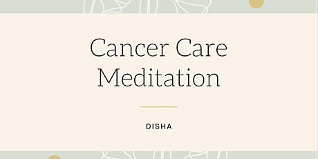 Meditation  Cancer Care tickets
