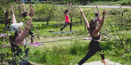 Silent Disco Yoga at Sea Cider Orchard - September 25th tickets