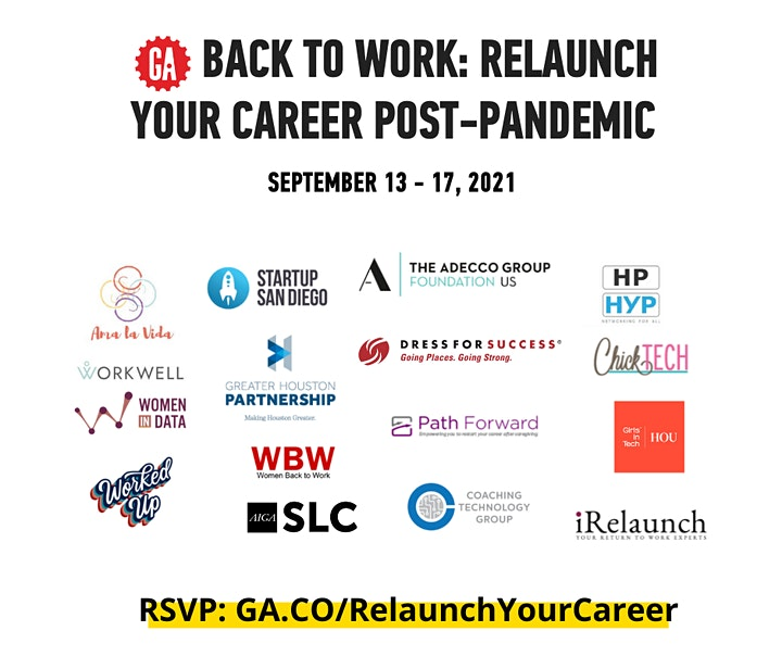 Back To Work | Relaunch Your Career Post-Pandemic image