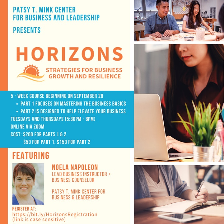 Horizons: Strategies for Business Growth and Resilience (Pt. 2) image