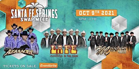 Montez De Durango, Conjunto Azabache y La Fe Norteña tickets