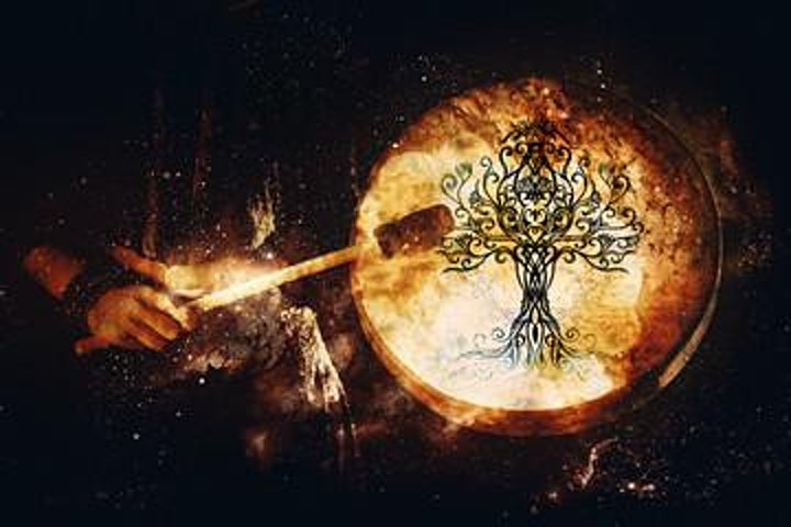 Shamanic Drum circle image