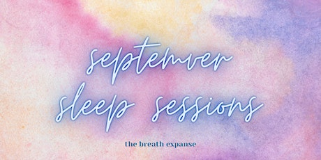 September Sleep Sessions tickets