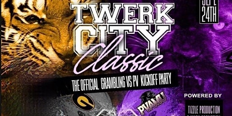 #TWERKCITY GRAMBLING VS PV CLASSIC KICK OFF PARTY ingressos