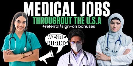 Medi Staffing: Virtual Job Fair tickets