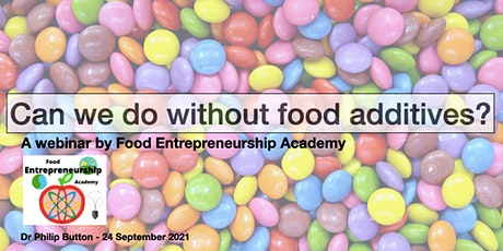 Can we do without food additives? tickets