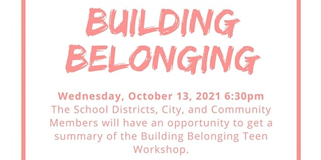 Building Belonging Fishbowl Discussion tickets