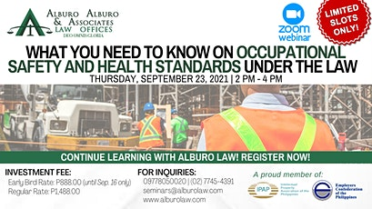 What You Need to Know on Occupational Safety and Health Standards tickets