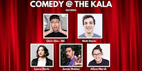 Comedy @ The Kala  - October - NY Events tickets