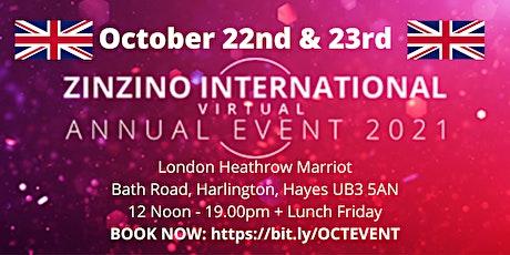 Zinzino Annual Event - UK Team tickets