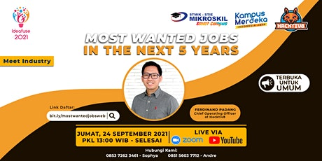 Meet Industry: Most Wanted Jobs in the Next 5 Years tickets