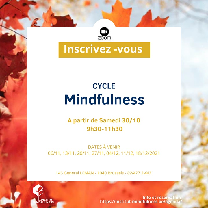 Image pour FREE  MINDFULNESS  DISCOVERY  SESSION - October 2021