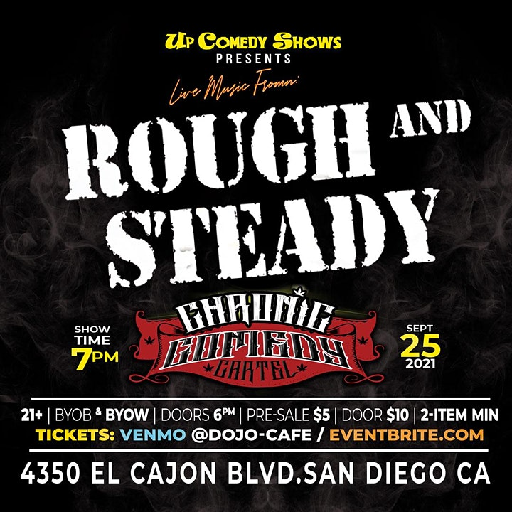 The Chronic Comedy Cartel : San Diego - 9/25 - 6-10pm image