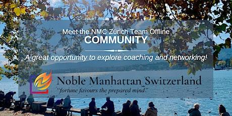 COMMUNITY – Meet the NMC Zürich Team Offline tickets