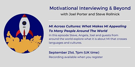 MI Across Cultures: What Makes MI Appealing To Many People Around The World tickets