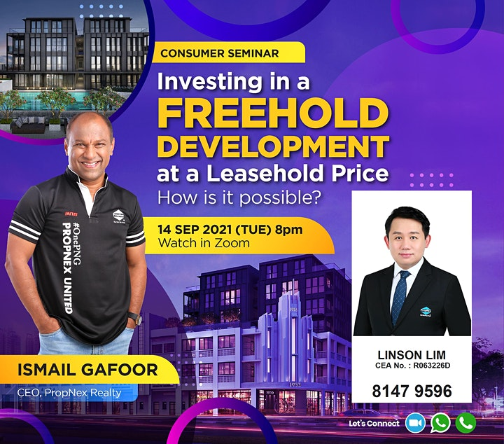 Investing in a Freehold Development at a Leasehold Price image