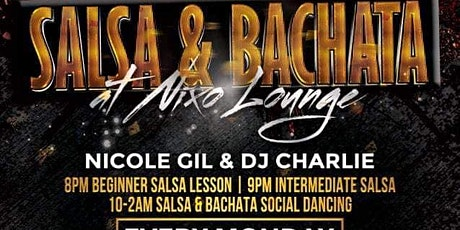 Salsa Lessons and Social Dancing tickets