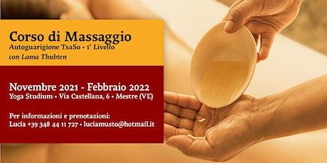 Corso di Massaggio di Autoguarigione TsaSo biglietti