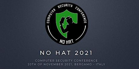 No Hat 2021 biglietti