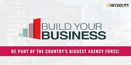 BUILD YOUR BUSINESS WITH PRULIFEUK tickets