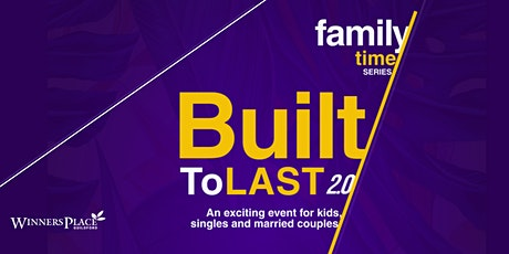 Built To Last Family Conference tickets