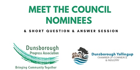 Meet the Council Nominees with Q & A tickets