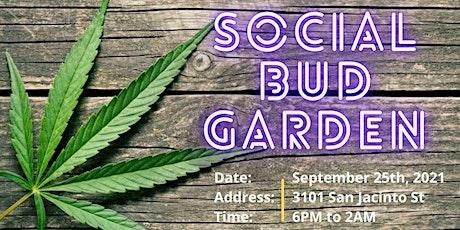 Social Bud Garden tickets