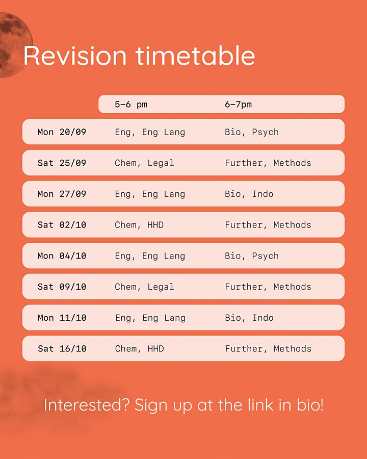 RESN Live: VCE x HSC Exam Revision Edition (Saturday Session) image