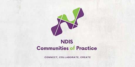 NDIS Community of Practice tickets