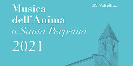 """Musica dell'anima a Santa Perpetua - Concerto """"Budench"""" - replica biglietti"""