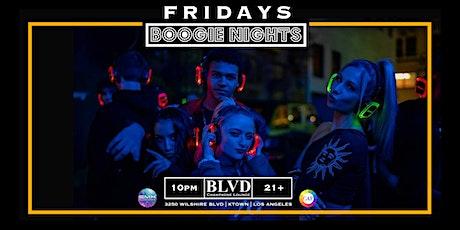 Boogie Nights @ BLVD Champagne Lounge (Koreatown) tickets