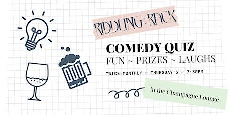 Riddling Rack Quiz Night tickets