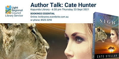Author Talk and Book Launch: Cate Hunter