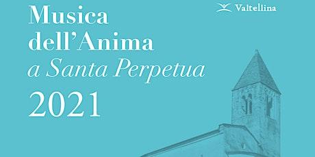 """Musica dell'anima a Santa Perpetua -  """"Années de Pèlerinage"""" - replica biglietti"""