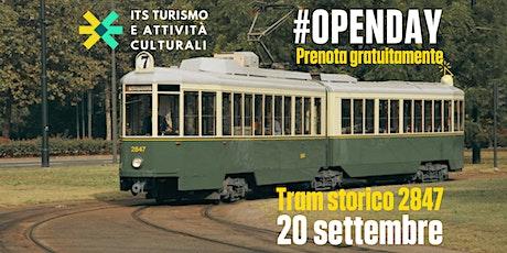 Open Day sul Tram Storico 2847 biglietti