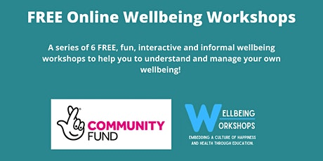 Wellbeing Workshops Afternoon Sessions tickets