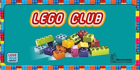 LEGO Club at Polesworth Library tickets