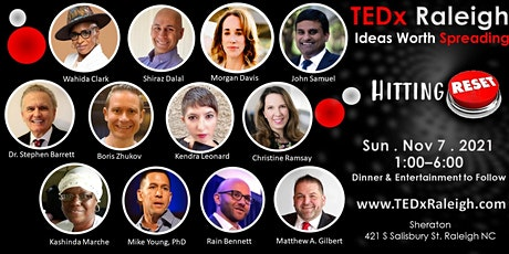 TEDx Raleigh 2021 tickets