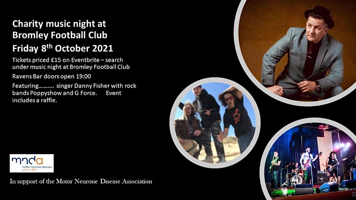 Music Night at Bromley Football Club in Support of MND image